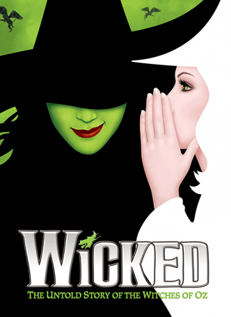 Wicked the Broadway Musical - Magnet