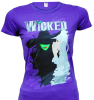 Wicked the Broadway Musical - Two Witches Ladies T-Shirt
