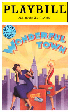 Wonderful Town Limited Edition Official Opening Night Playbill