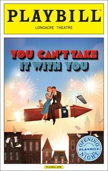 You Cant Take it With You Limited Edition Official Opening Night Playbill