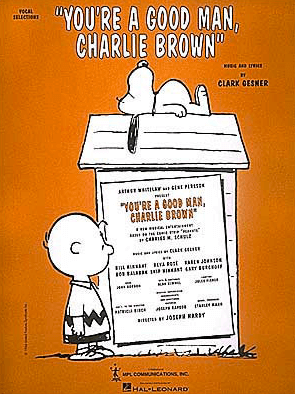 Youre A Good Man, Charlie Brown Piano/Vocal Selections Songbook