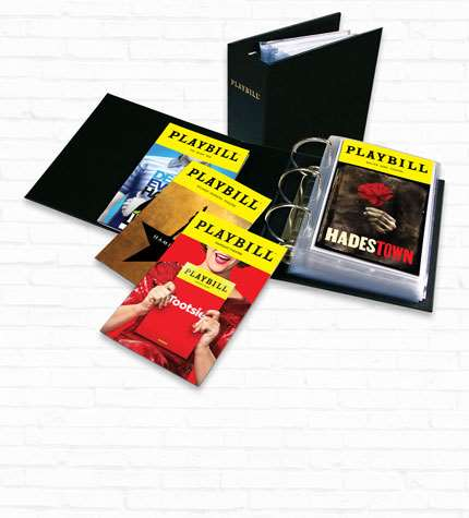 Playbill Binders
