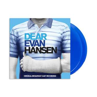 Dear Evan Hansen (Original Broadway Cast Recording)(2LP Blue Vinyl w/Digital Download) Vinyl | Double Vinyl
