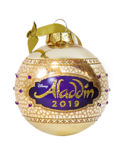 Aladdin the Broadway Musical - 2019 Glass Ball Ornament
