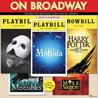 On Broadway: The 2020 Playbill Wall Calendar