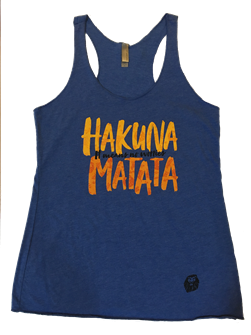Lion King Hakuna Matata Ladies Tank Top