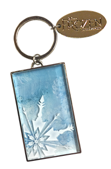 Frozen the Broadway Musical Logo Keychain