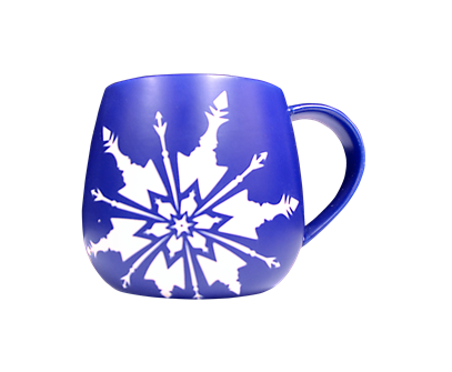 Frozen the Broadway Musical Dark Blue Logo Mug