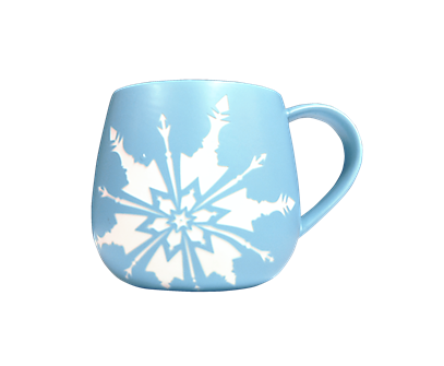 Frozen the Broadway Musical Teal Logo Mug