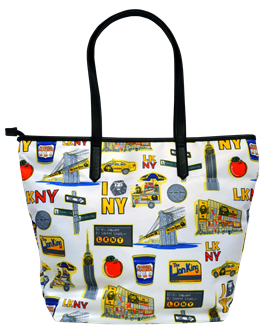 Lion King the Broadway Musical Repeat Zipper Tote