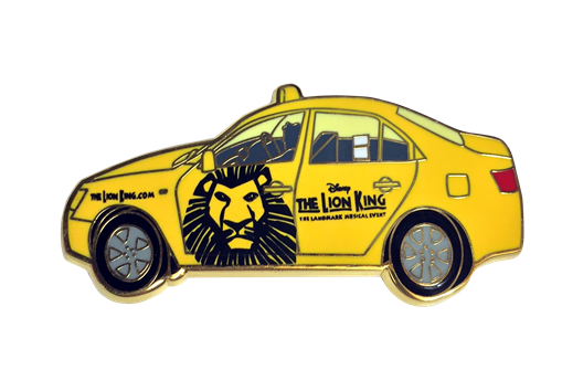 Lion King the Broadway Musical Taxi Magnet