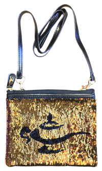 Aladdin the Broadway Musical - Reverse Sequin Lamp Purse