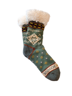Frozen the Broadway Musical Hygge Socks