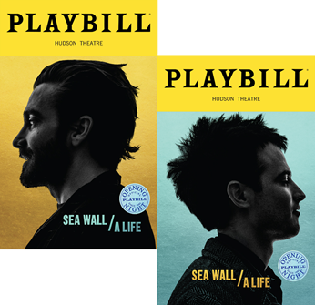Sea Wall/A Life Limited Edition Official Opening Night Playbills