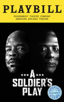 A Soldiers Play Limited Edition Official Opening Night Playbill