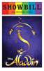 Aladdin - June 2016 Playbill with Rainbow Pride Logo