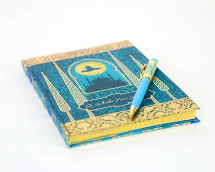 Aladdin the Broadway Musical - Journal and Pen Combo