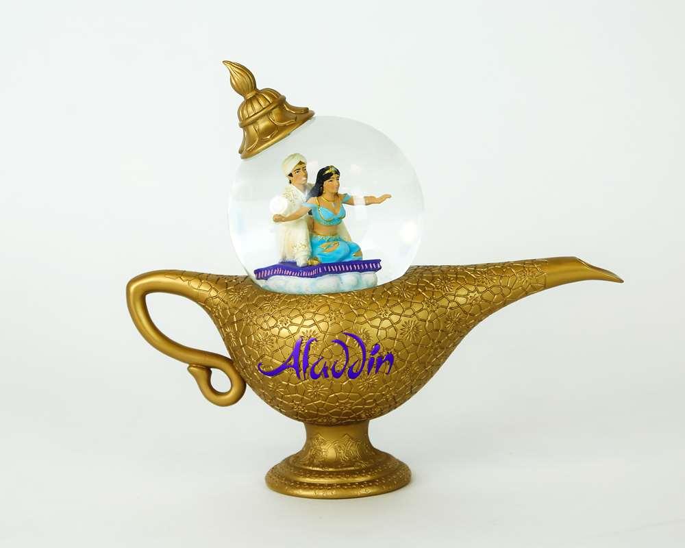 Aladdin Lamp Snowglobe Aladdin The Musical