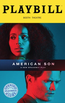 American Son Limited Edition Official Opening Night Playbill
