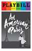 An American in Paris - June 2016 Playbill with Rainbow Pride Logo