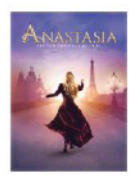 Anastasia the Broadway Musical Logo Magnet