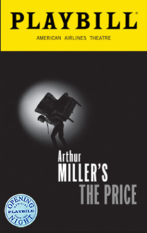 Arthur Millers The Price on Broadway Limited Edition Official Opening Night Playbill