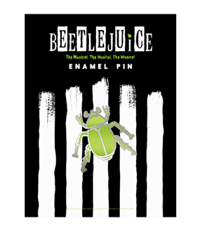 Beetlejuice the Broadway Musical Enamel Pin