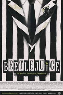 Beetlejuice the Broadway Musical Poster