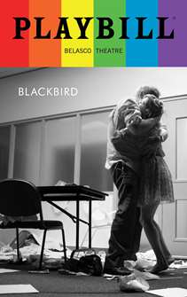 Blackbird - 2016 June Playbill with Rainbow Pride Logo