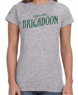 Brigadoon Ladies Logo T-shirt - 2017 Encores