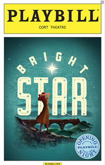 Bright Star The Musical Limited Edition Official Opening Night Playbill