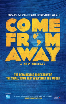 Come From Away The Broadway Musical Poster