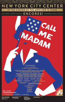 Call Me Madam Poster - Encores