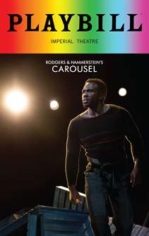 Carousel - June 2018 Playbill with Rainbow Pride Logo