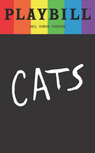 Cats - June 2017 Playbill with Rainbow Pride Logo