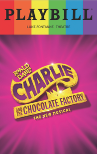 Charlie and the Chocolate Factory - June 2017 Playbill with Rainbow Pride Logo