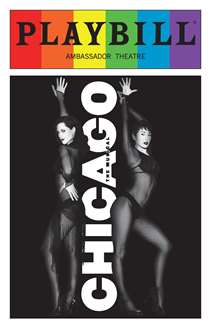 Chicago - June 2016 Playbill with Rainbow Pride Logo