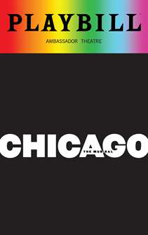 Chicago - June 2018 Playbill with Rainbow Pride Logo