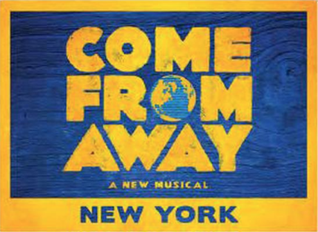 Come From Away the Broadway Musical Magnet