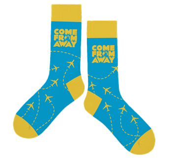 Come From Away the Broadway Musical Socks