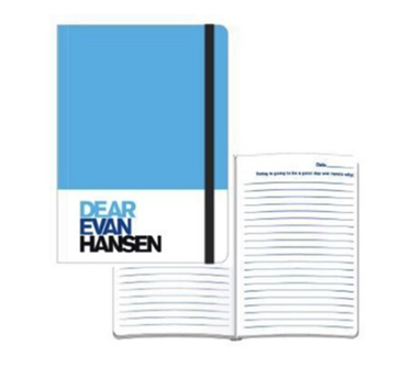 Dear Evan Hansen the Musical Blue Notebook