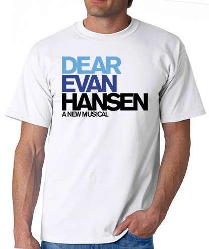 Favori Dear Evan Hansen the Musical - Logo T-Shirt - Dear Evan Hansen  YC15