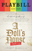A Dolls House Part II - June 2017 Playbill with Rainbow Pride Logo