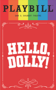 Hello, Dolly! - June 2017 Playbill with Rainbow Pride Logo