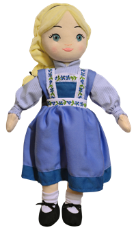 Frozen the Broadway Musical Elsa Plush