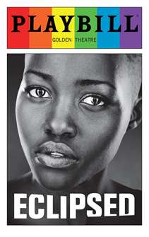 Eclipsed - June 2016 Playbill with Rainbow Pride Logo