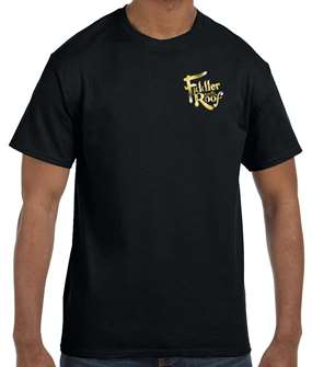 Fiddler On The Roof - Black Logo T-shirt