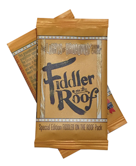 Fiddler on the Roof - Lights of Broadway Show Cards