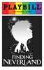 Finding Neverland - June 2016 Playbill with Rainbow Pride Logo