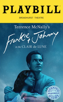 Frankie and Johnny in the Clair de Lune Limited Edition Official Opening Night Playbill